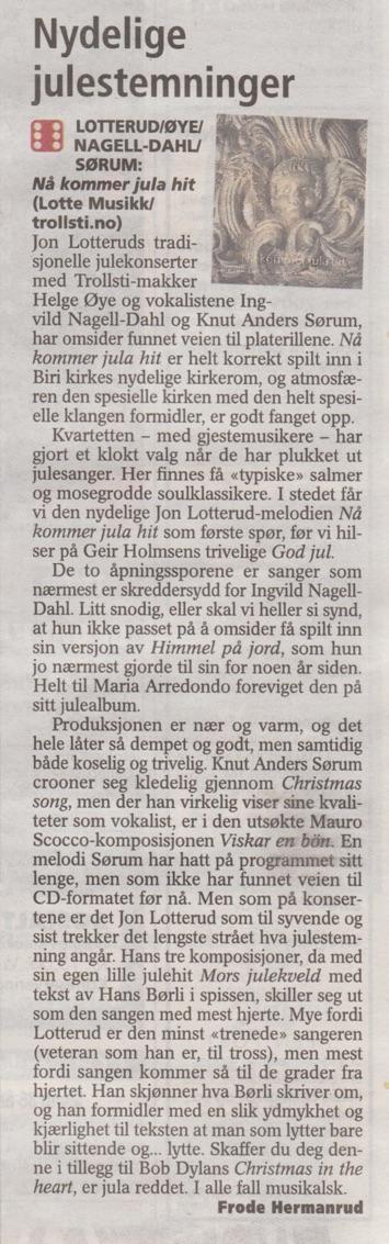 11 2009 Julecdanmeldelse 2009
